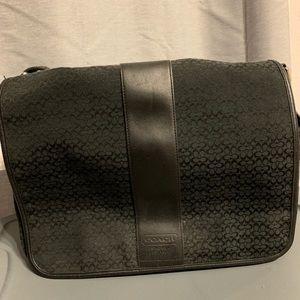 Coach messenger/diaper bag